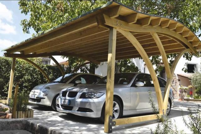 Навес для автомобиля из поликарбоната: как сделать своими руками, размеры
