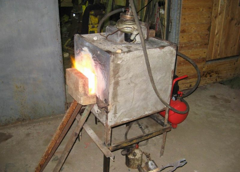 Кузнечный горн своими руками: самодельная газовая и угольная горелка, как сделать, инструкция