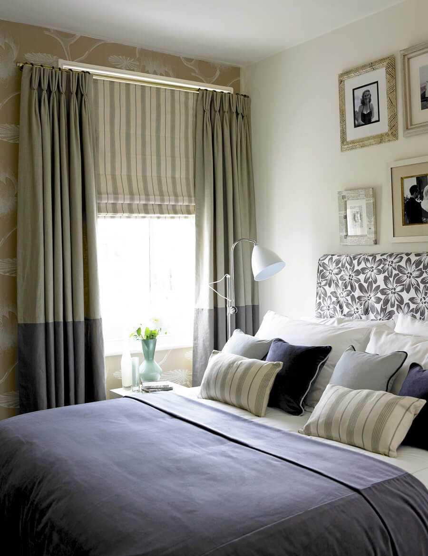 Шторы для спальни: 265+ (фото) для современного дизайна