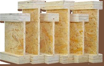 Балки двутавровые деревянные для перекрытий: устройство, преимущества и применение
