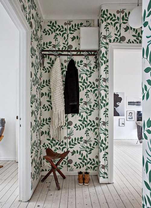 Обои для стен - виды, идеи дизайна, каталог (80 фото)