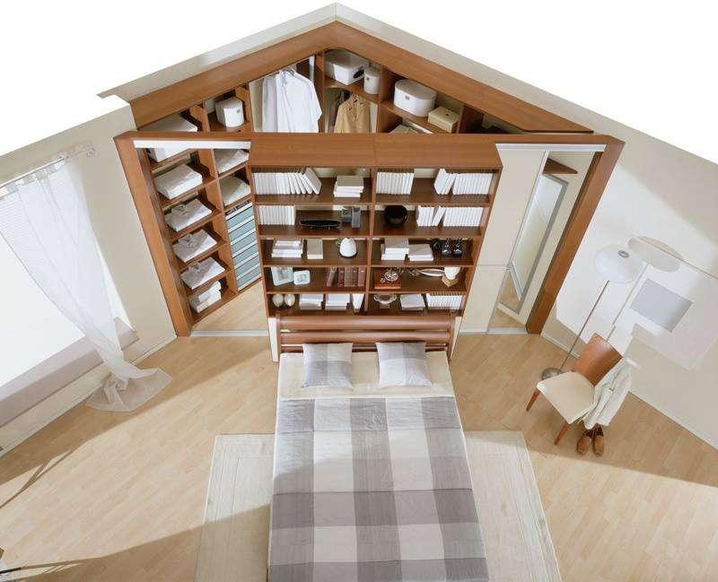 Гардеробная в спальне, как организовать и правильно оформить