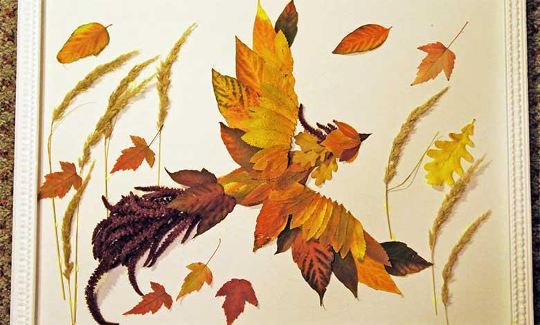 Поделки из листьев - 75 фото реальных примеров создания стильных и красивых поделок