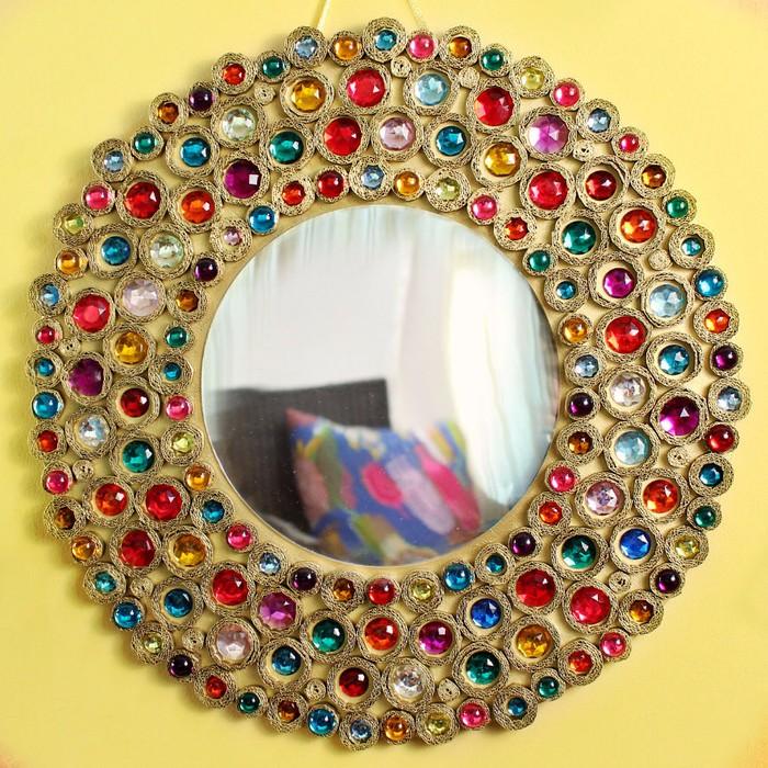 Как закрепить зеркало в раме: деревянной, металлической