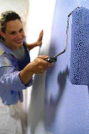 Водоэмульсионная краска для стен: свойства составов, разновидности краски и какую лучше выбрать   | в мире краски