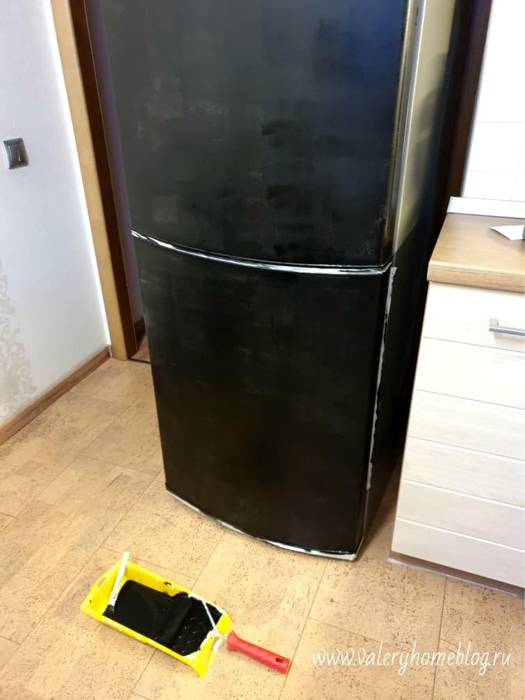 Как покрасить холодильник? – какие краски использовать в домашних условиях