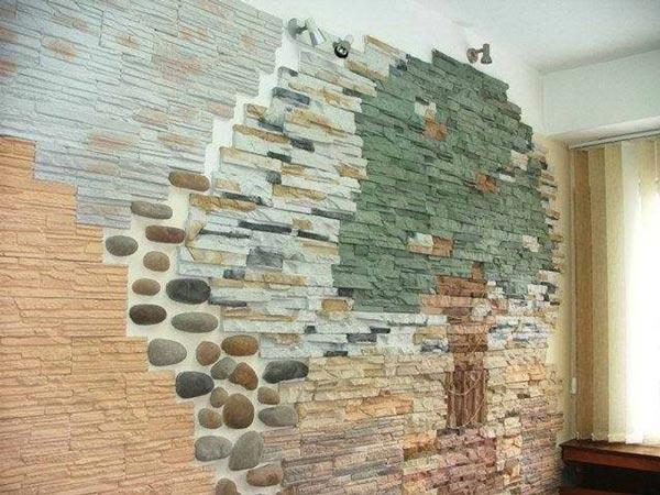 декоративный камень на стену