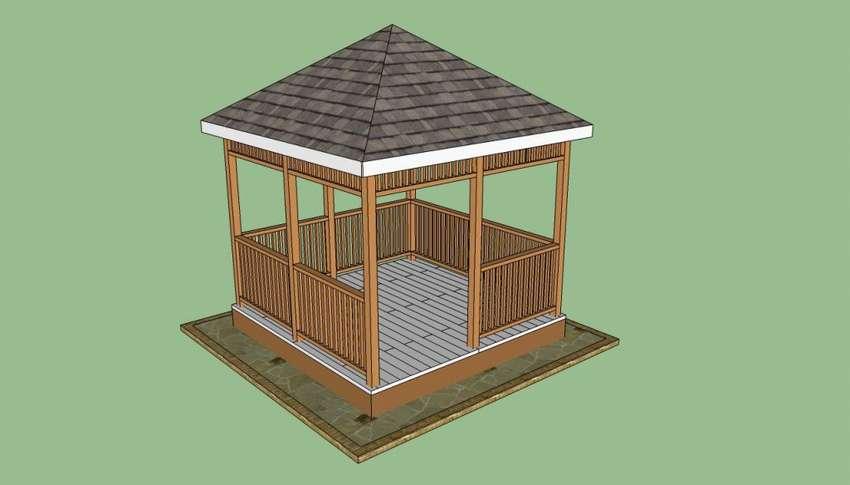 Беседки из дерева (98 фото): деревянные резные садовые строения под старину, модель бочка с мангалом, как сделать просто и красиво