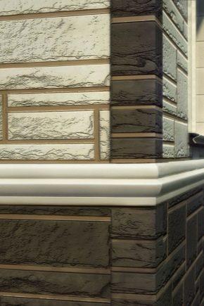 Отделка фасада частного дома фиброцементным сайдингом