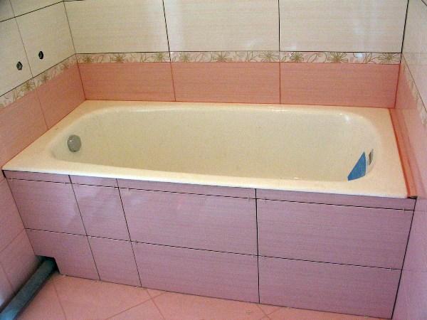 Как сделать экран под ванну: экран из плитки своими руками