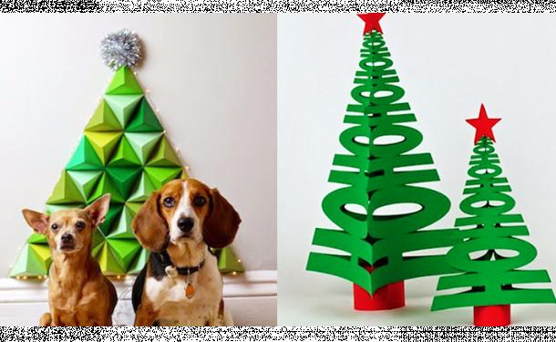 Объемные елочные игрушки из бумаги: пошаговый фото-обзор