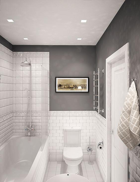 Оптимальный размер плитки для ванной комнаты