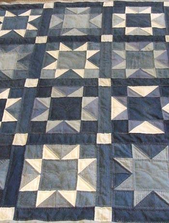 Лоскутное одеяло – стильная вещь из ненужных вещей