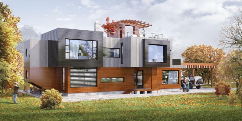 Строим крепко и надолго: как строятся деревянные дома своими руками – готовые идеи и проекты