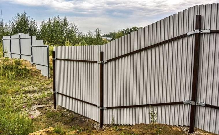 Купить забор для дачи под ключ в москве по низкой цене от 1 100 руб