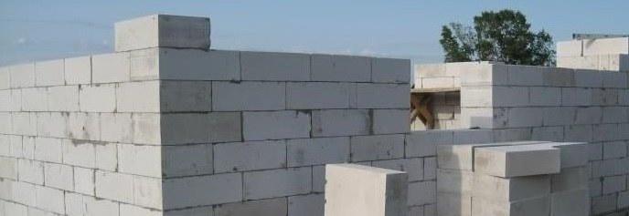 Кладка стен из пеноблока – от установки первого ряда, до монтажа перекрытий