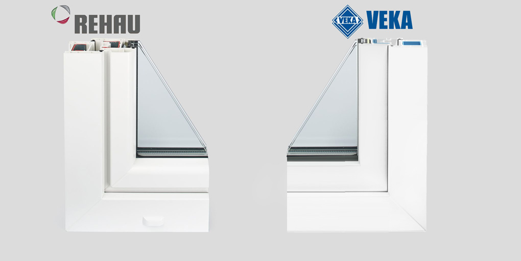 """Какие окна лучше """"veka"""" и """"rehau"""": обзор и сравнение   в чем разница"""