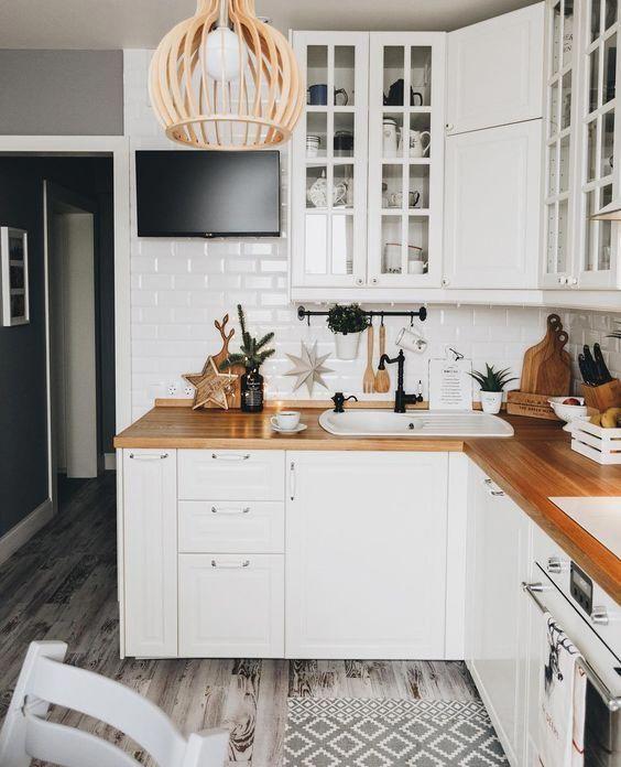 кухни икеа в интерьере