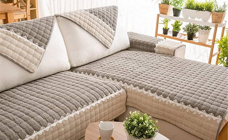 сшить чехол на угловой диван легкий способ