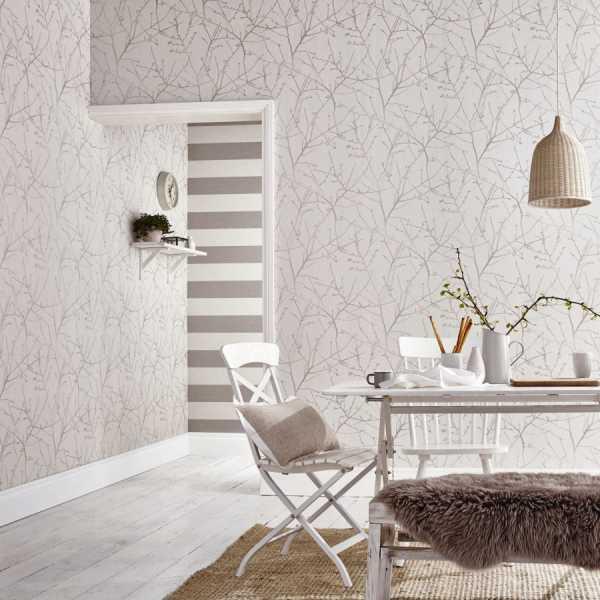Белые обои в дизайне интерьера - лучшие идеи и правила использования белых обоев (185 фото)