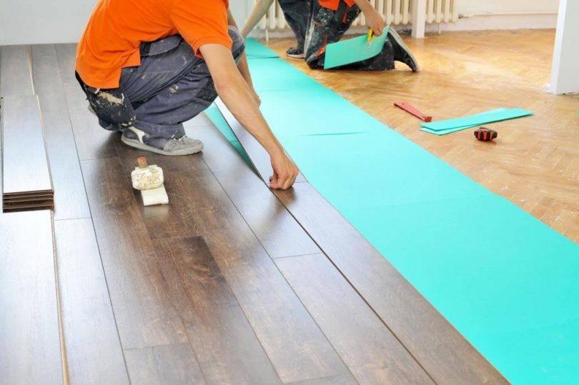 Как закрепить ламинат на стене - клуб мастеров