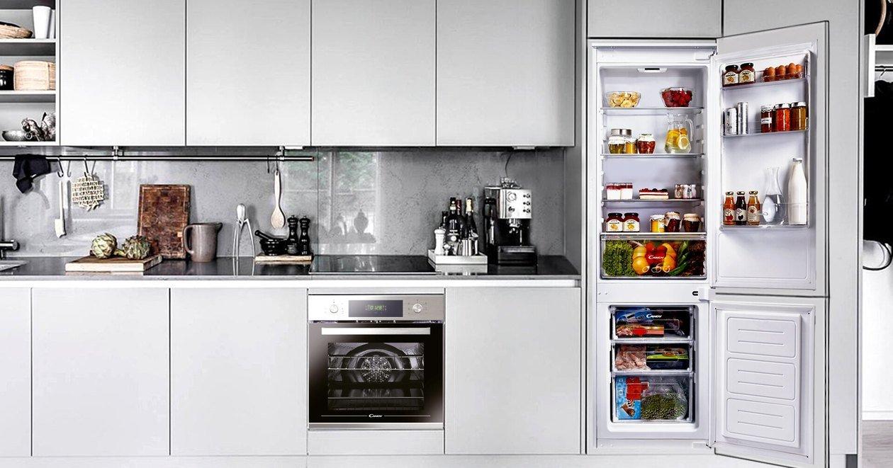 Встраиваемый холодильник: варианты установки, схемы подключения и возможность проведения ремонтных работ