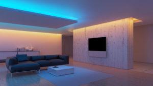 Светящийся потолок: как и из чего сделать