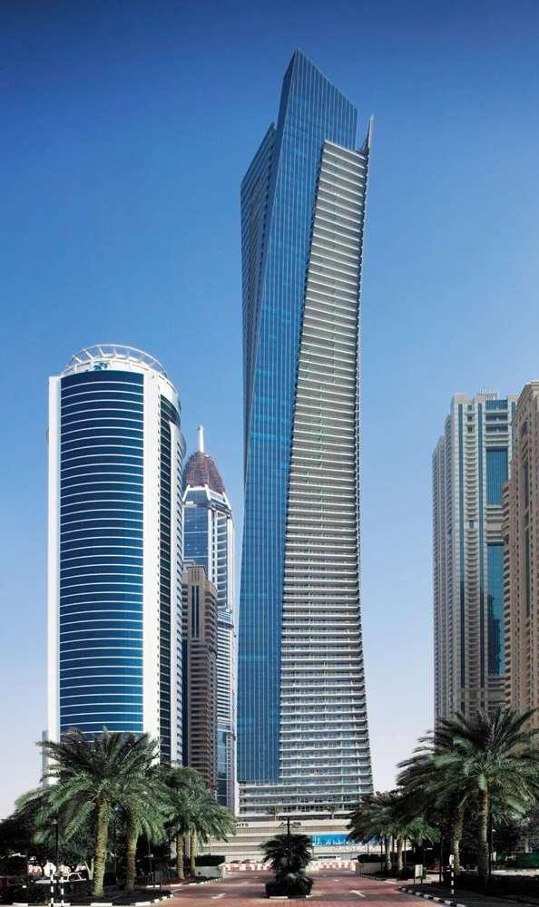 самый высокий небоскреб в дубае