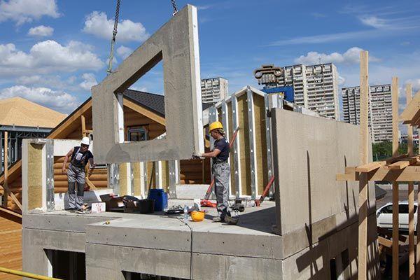 Бэнпан - cтроительство дома по новой технологии