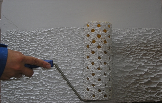 как сделать декоративную шпаклевку