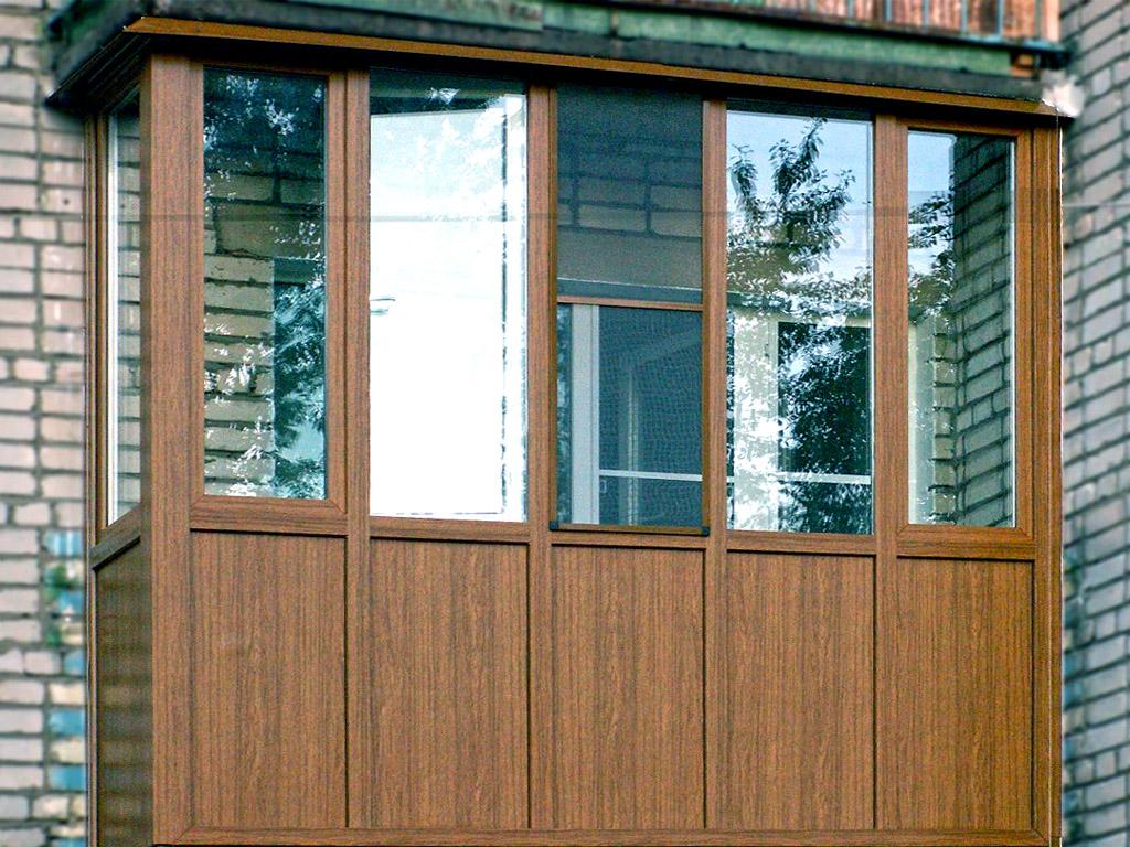 балконы и лоджии оформление