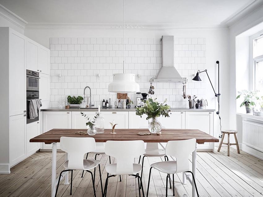 кухня в белом стиле