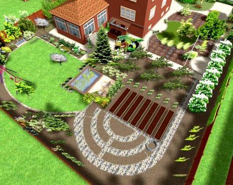Как распланировать огород на маленьком участке? – дачные дела