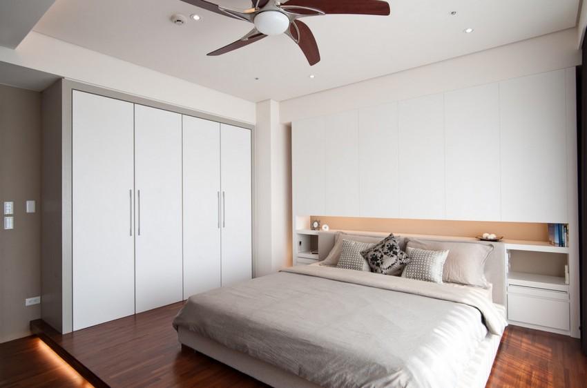 Шкаф, встроенный в нишу (68 фото): с распашными дверями на кухне и балконе, в ванной комнате и спальне, на мансарде, шкаф в узкую комнату