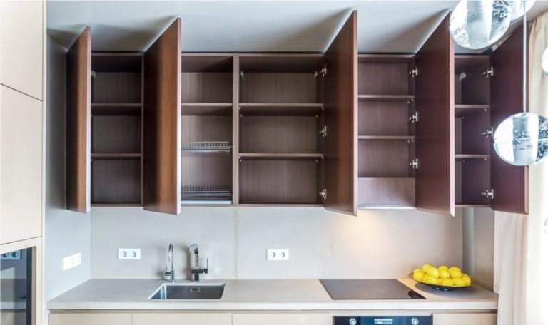 Фасады для кухни: виды, материалы, дизайн и выбор