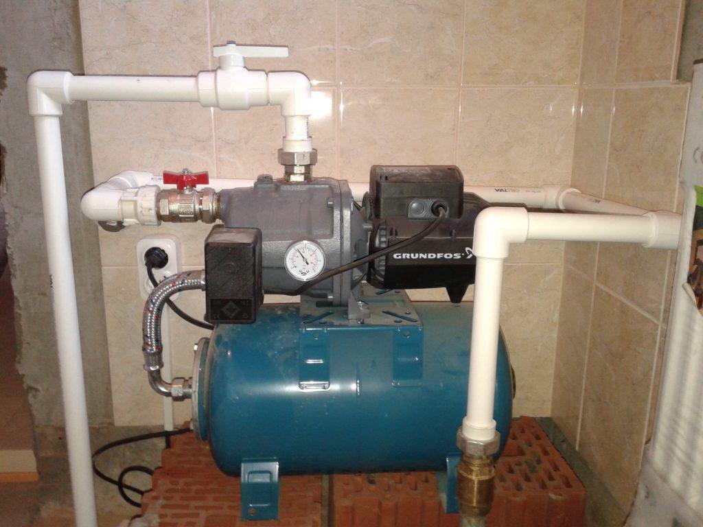 как отрегулировать реле давления воды с гидроаккумулятором
