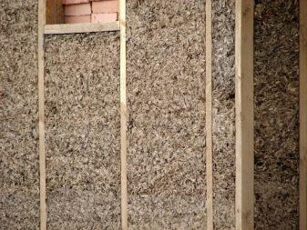 сыпучий утеплитель для стен
