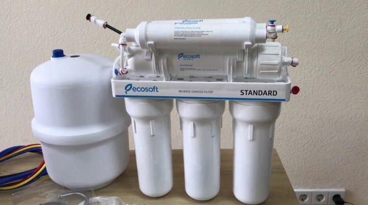 фильтр для воды под мойку осмос