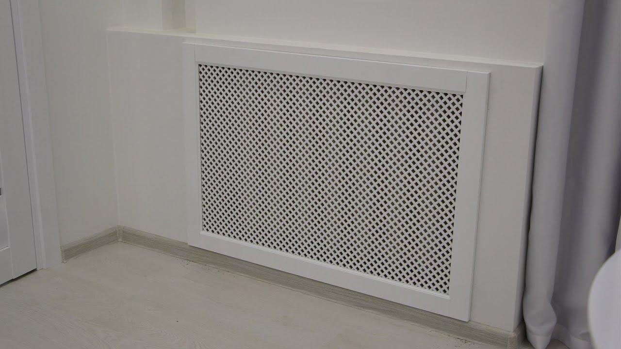 экран для чугунной батареи отопления