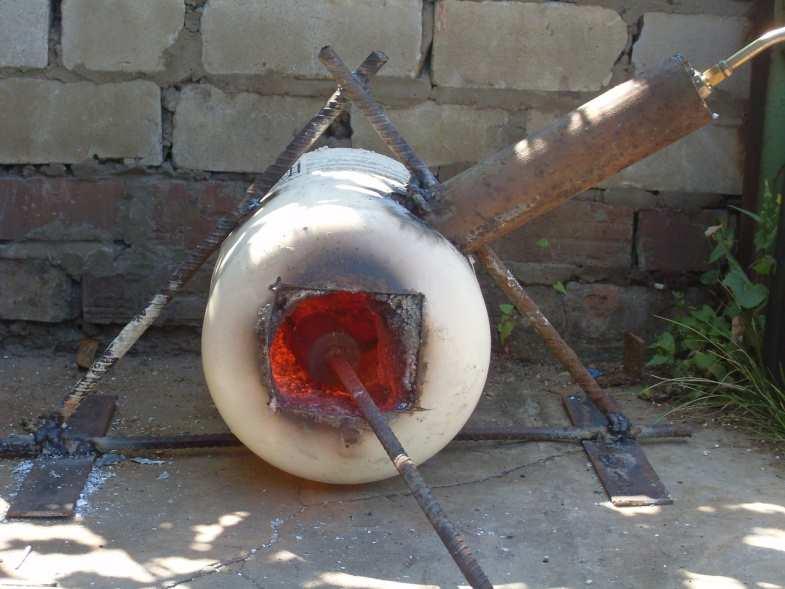 Горн для ковки своими руками - самодельная печь