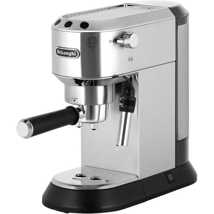 принцип работы рожковой кофеварки