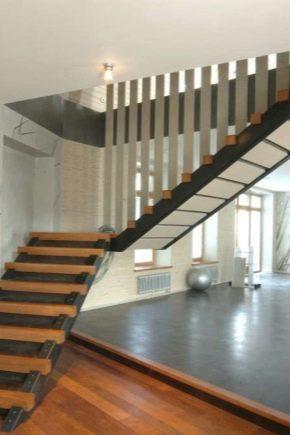 Лестницы на второй этаж на металлическом каркасе — делаем своими руками