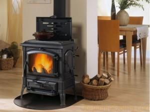 печь для дома на дровах