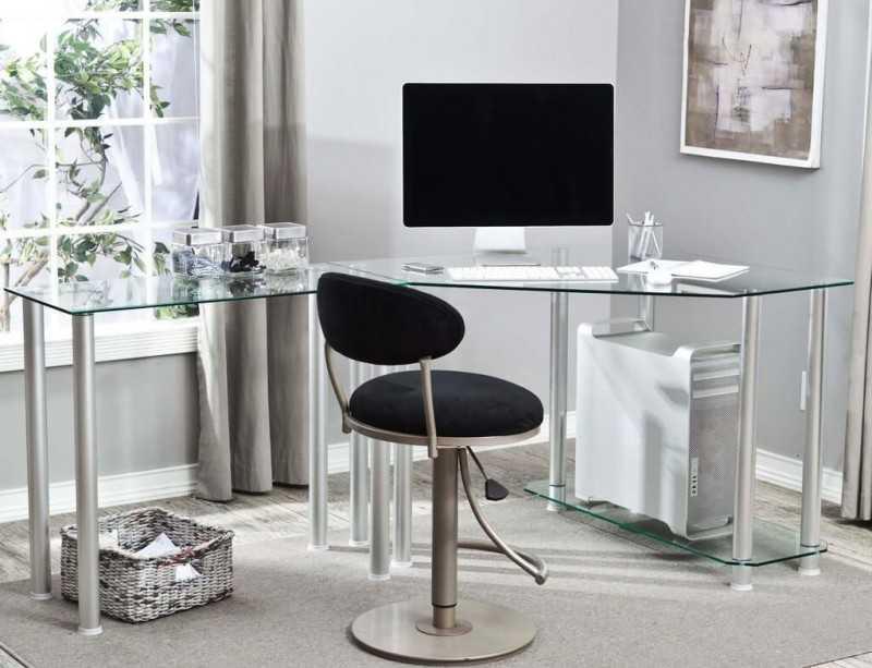Компьютерный стол – современные проекты, стильные форматы и варианты персонализации. 105 фото лучших идей