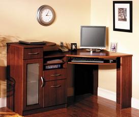 Угловой компьютерный стол: 40 практичных вариантов для дома