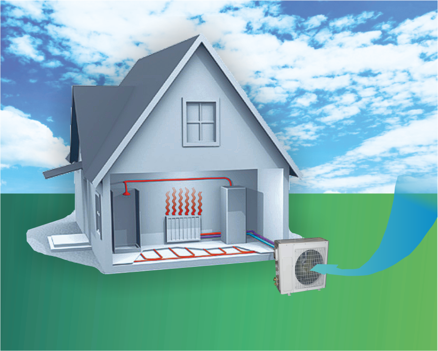тепловой насос для отопления дома принцип работы
