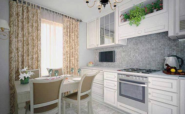 Телевизор на кухне в хрущевке - 24 варианта размещения с фото