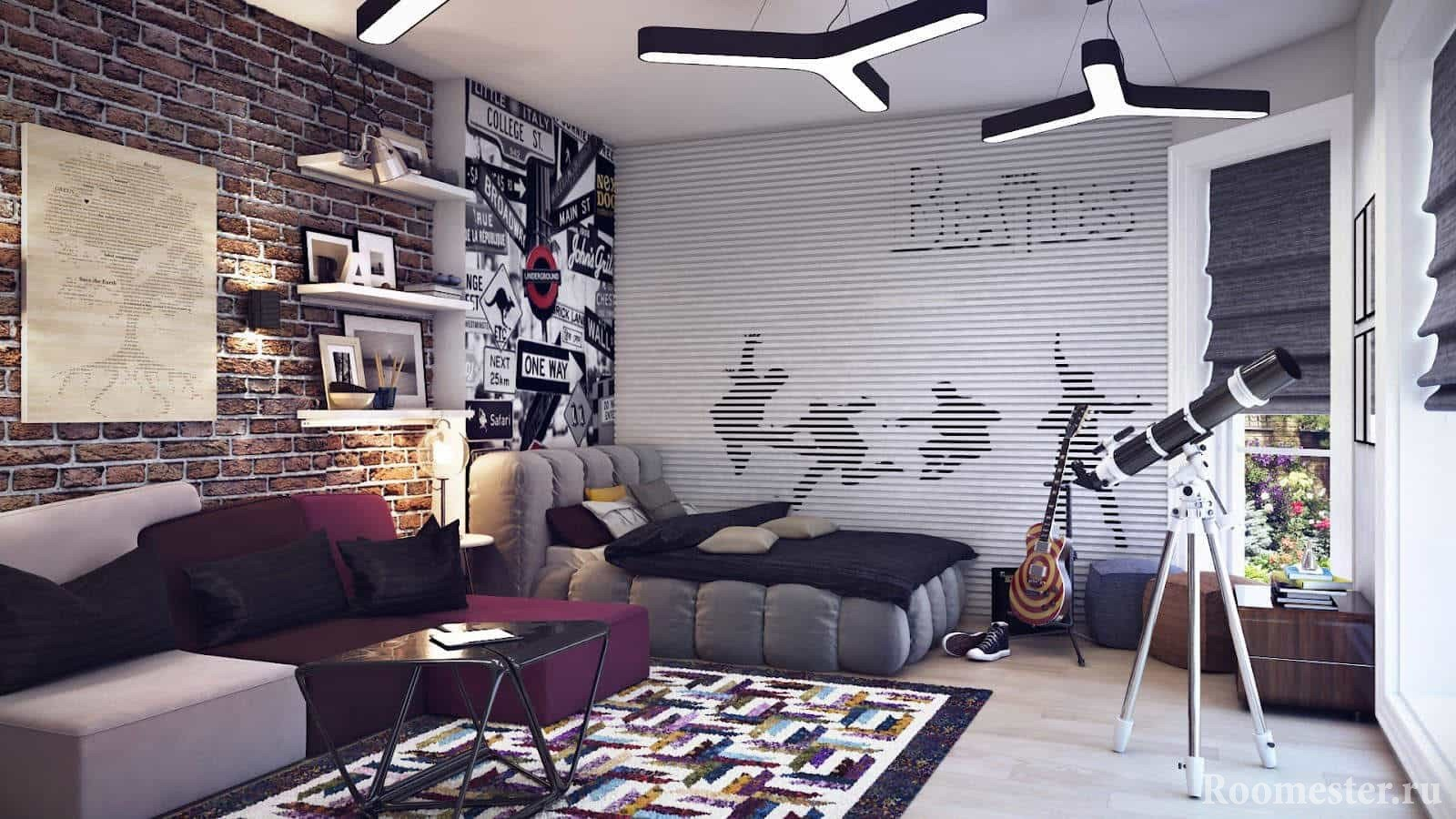 Создаём мужской интерьер в спальне (54 фото): стиль, цвет, декор