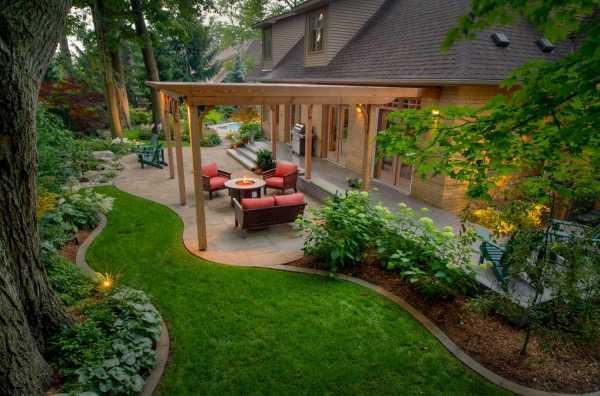Ландшафтный дизайн для начинающих: правила оформления дачного участка