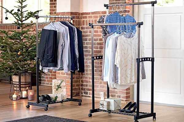Штанга в шкаф для одежды: виды, размеры, крепления, изготовление